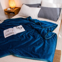 冬季珊瑚毯子加厚加绒保暖床垫毛毯被子双人法兰绒毛绒床单人宿舍k