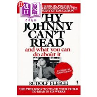 【中商海外直订】Why Johnny Can't Read?: And What You Can Do about I