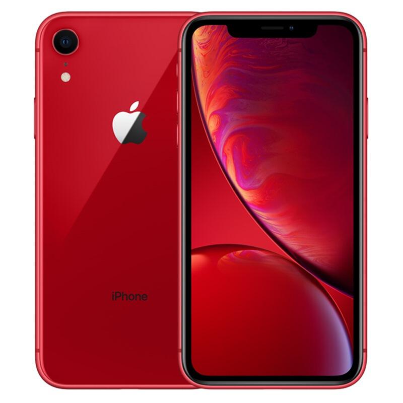 【当当自营】Apple 苹果 iPhone XR 64GB 红色 全网通 手机 A12仿生芯片,全面屏,面容ID,支持双卡。