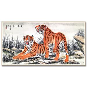 桂林灵川中国画院人物创作室主任 梁振辉《王者之风》