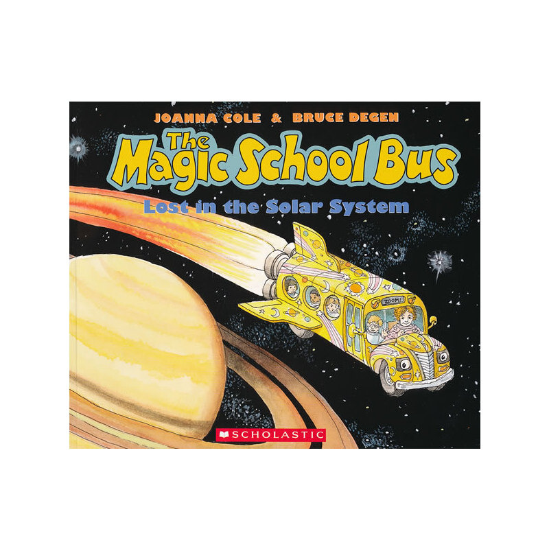 Magic School Bus: Lost In The Solar System (Audio)学乐有声读物:神奇校车-迷失太阳系(书+CD)ISBN9780545220880