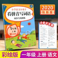 开心教育 小学语文小帮手 看拼音写词语同步专项训练 一年级上册