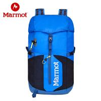 Marmot/土拨鼠四季户外徒步男女同款18L双肩运动包登山背包Q24920