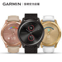 【新款上市】Garmin佳明GarminMove Style/Luxe智能跑步运动指针式智能腕表多功能时尚手表迪丽热巴