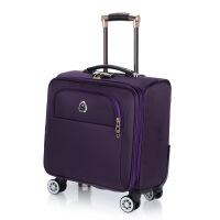 拉杆箱行李箱包16寸万向轮商务旅行箱男女登机箱可商务 18寸