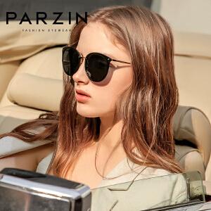 帕森太阳镜女 轻盈复古炫彩膜潮墨镜驾驶镜偏光眼镜9868