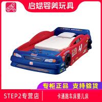 STEP2原装进口儿童创意个性汽车床男孩卡通跑车床婴儿床