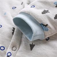 婴儿连体衣六个月宝宝春秋3 女秋冬长袖公主春秋外出男
