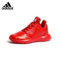 【3折价:158.7元】阿迪达斯(adidas)儿童鞋新款运动鞋大童漫威钢铁侠男女童松紧带跑步鞋AH2439 红色