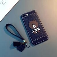 新款苹果7plus手机壳挂绳iphoneX保护套8plus软壳Xs Max情侣6plus潮男女i6s 6/6s 4.7
