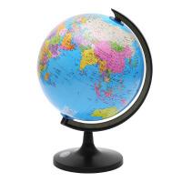 地球仪学生用高清标准地理教学摆件中号学生文具奖品儿童礼品批发 天蓝色