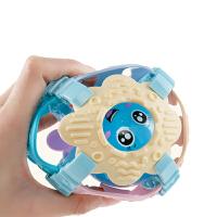 新生宝宝婴儿牙胶手拿新生儿婴幼儿童洞洞摇铃手抓软胶球抓握玩具
