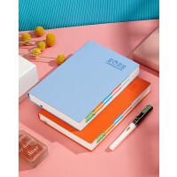 2020日程本计划本趁早365天日记本日式手账本商务笔记本186张372页