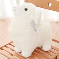 可爱小绵羊公仔毛绒玩具羊布偶娃娃抱枕送女孩抱着睡觉韩国玩偶萌