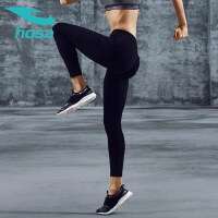 hosa浩沙女士瑜伽裤健身裤高弹跑步长裤运动紧身打底裤美臀裤