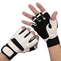 男女露指运动半指手套户外透气防滑山地车骑行健身手套