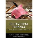 【预订】Behavioral Finance 9780190868734