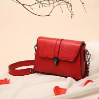 红色包包女新款包包婚包新娘包结婚包包百搭单肩斜跨潮 魅力红