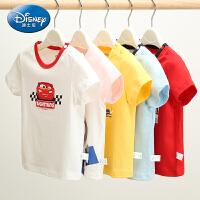 【2件3折后价:29.7】迪士尼宝宝童装婴幼儿小童短袖女童迪斯尼潮T恤夏装上衣洋气