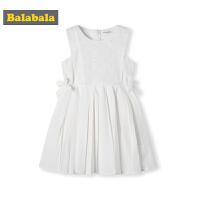 巴拉巴拉童装女童裙子小童宝宝夏季2019新款公主裙儿童无袖连衣裙