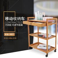 小置物架收纳架可移动 置物架厨房储物架书架拉斯克收纳架实木