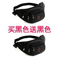 新款帆布腰包男多功能大容量生意收银钱包腰包女户外运动旅游胸包