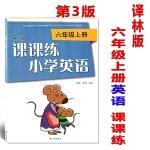2019译林版小学英语课课练六年级上册6上课本配套练习册第3版苏教