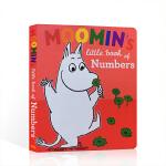 英文原版绘本姆明一族Moomin's Little Book of Numbers 穆明的数字小书 趣味撕不烂纸板书幼