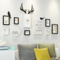 北欧风客厅装饰画现代简约餐厅壁画沙发背景墙画卧室床头墙面挂画 适合2-4米墙面 环保高分子 拼套