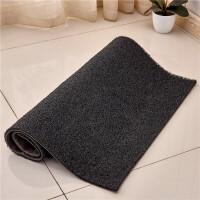 丝圈地垫门垫地毯进门客厅入户门口脚垫门厅塑料PVC防滑垫定制q