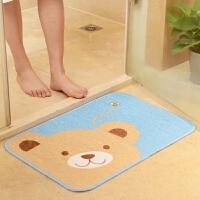 吸水蹭灰 可爱卡通地垫 门垫 防滑垫 进门垫脚垫防滑地毯小熊地垫T
