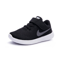 【到手价:187.6元】耐克新款FREE RN男女童轻便透气休闲运动鞋833992-001 黑色