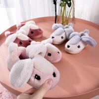 儿童包跟男童女童宝宝室内家居鞋冬季小孩棉拖鞋1-3-5岁