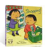 顺丰发货 英文原版绘本Helping Hands Shopping 好帮手系列 购物 吴敏兰书单 child's pl