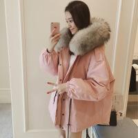 2019新款新款大码女装换季清仓女胖mm200斤羽绒服宽松胖妹妹冬装外套