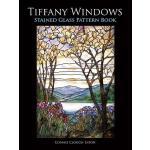 【预订】Tiffany Windows Stained Glass Pattern Book