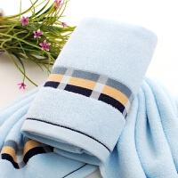 棉毛巾礼盒单条装洗脸结婚家用婚庆寿宴回礼品绣字定制logo T 74x34cm