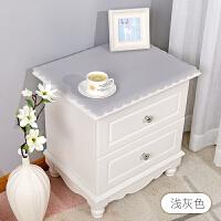 纯色简约现代床头柜罩盖布防水防尘电视柜桌布PVC梳妆台布长方形 电视柜 42*240cm