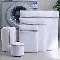 洗衣袋 细网灰色洗衣袋2020新款蜂窝网洗衣服护洗袋70克加厚粗细网袋内衣洗护袋