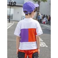 男童短袖t恤儿童夏季男孩半袖中大童薄款打底衫