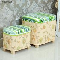 多功能整理储物箱收纳凳储物凳可做换鞋椅穿鞋凳