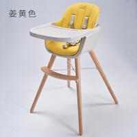 宝宝餐椅实木家用儿童吃饭座椅多功能便捷婴儿餐桌椅小孩饭桌bb凳YW127