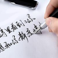 毕加索钢笔916美工笔弯尖弯头成人书法练字用学生专用男士女式高档签字签名速写硬笔墨囊刻字定制