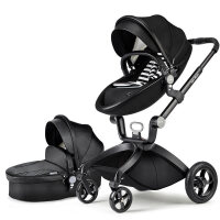 婴儿推车高景观可坐可躺折叠轻便进口宝宝儿童手推车