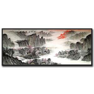 中国美术家协会会员 吴成建 《云山苍茫》