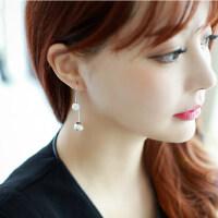 韩版简约甜美款珍珠耳环女耳钉耳饰日韩耳坠小饰品