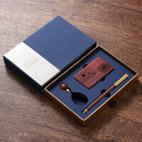 复古典红木签字笔实用套装中国风创意公司商务礼品个性