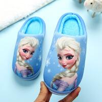 儿童拖鞋女冬家居室内棉拖鞋中大童3-10岁秋