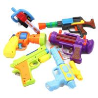 熊出没四件套光头强玩具套装电锯伐木锯子儿童电动男孩3-5岁枪c 小Q+乐乐+驳壳+光头强3件套 6把 送电池