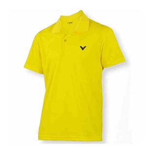 VICTOR胜利羽毛球服 羽球服 梭织短袖POLO衫 男款 S-3019
